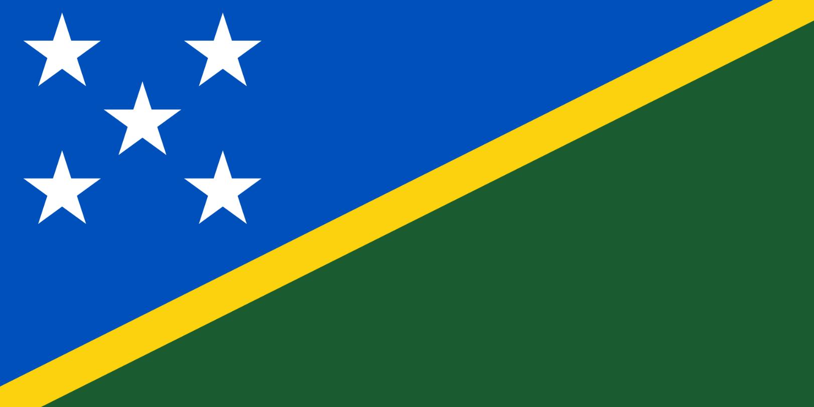 Flagge im Querformat Land Salomonen 150x100 cm