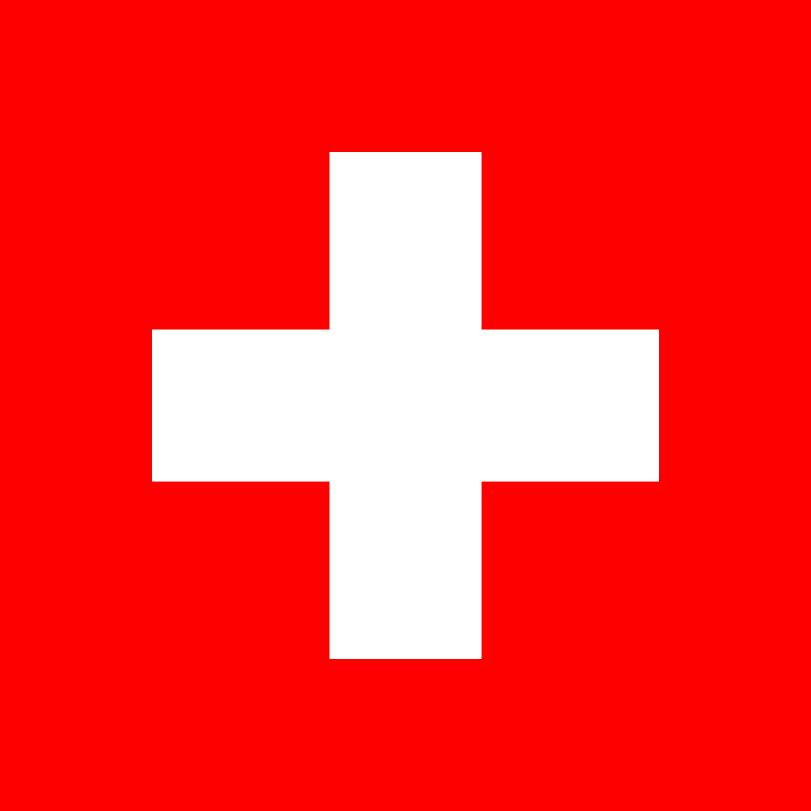 Flagge im Querformat Land Schweiz 150x100 cm