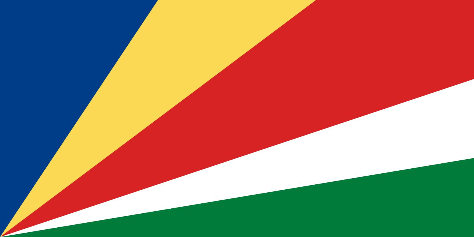 Flagge im Querformat Land Sevchellen 150x100 cm