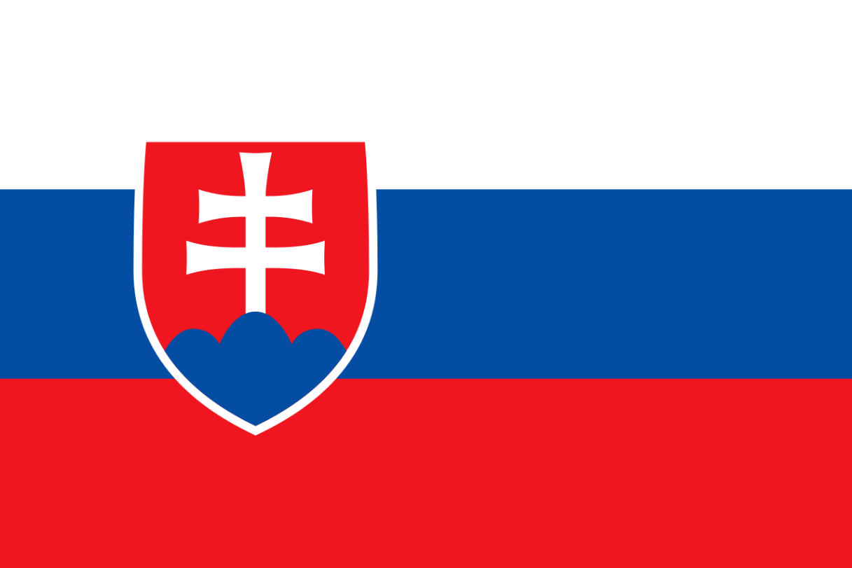 Flagge im Querformat Land Slowakei 150x100 cm