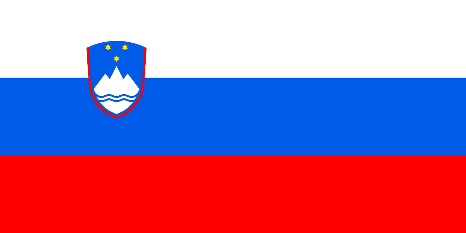 Flagge im Querformat Land Slowenien 150x100 cm
