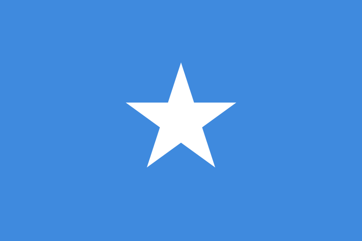Flagge im Querformat Land Somalia 150x100 cm