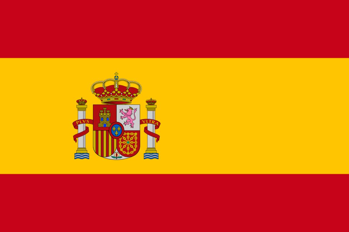 Flagge im Querformat Land Spanien 150x100 cm