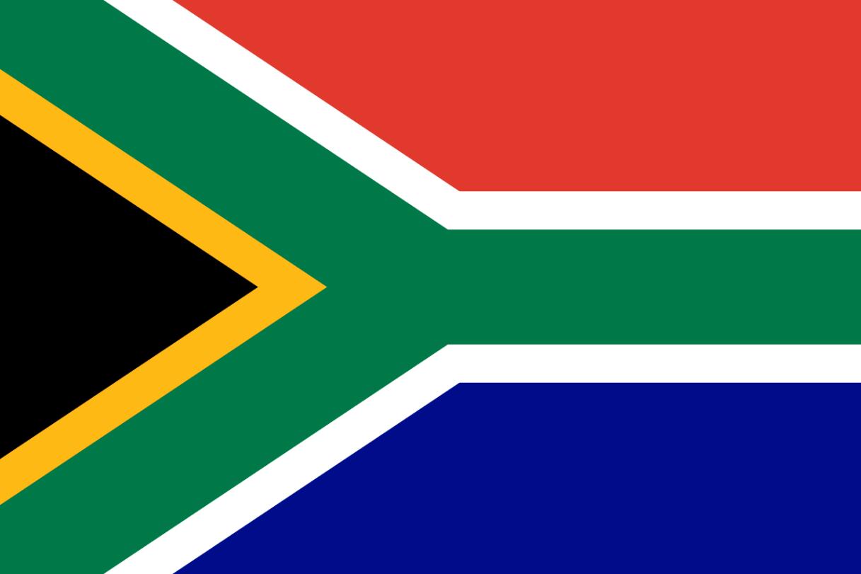 Flagge im Querformat Land S�dafrika 150x100 cm