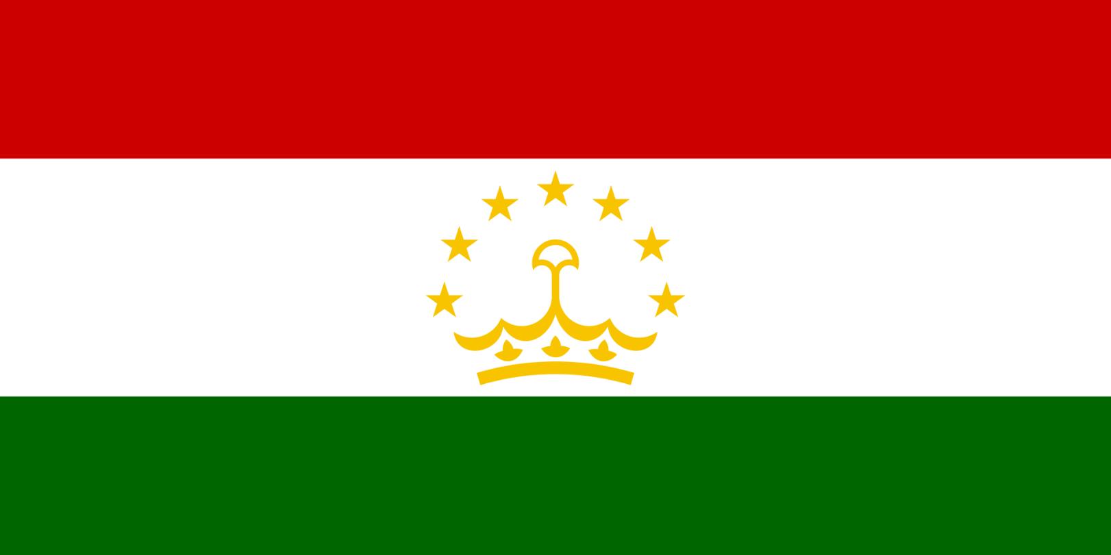 Flagge im Querformat Land Tadschikistan 150x100 cm