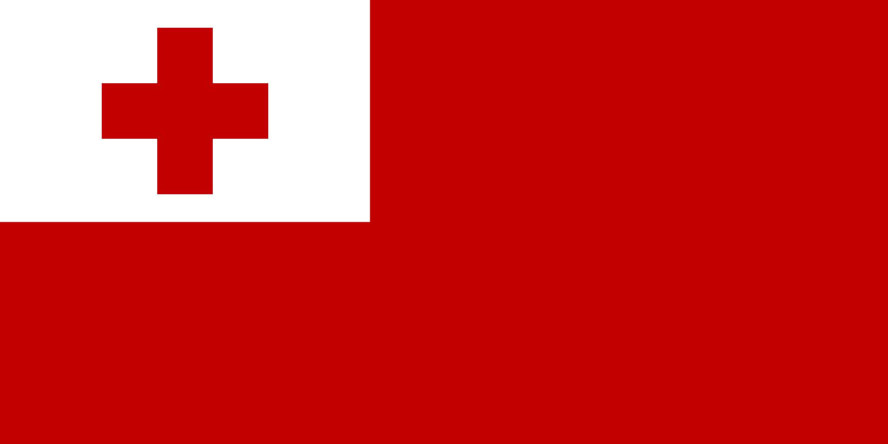 Flagge im Querformat Land Tonga 150x100 cm