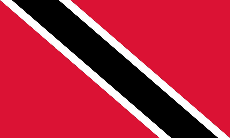 Flagge im Querformat Land Trinid. und  Tob. 150x100 cm
