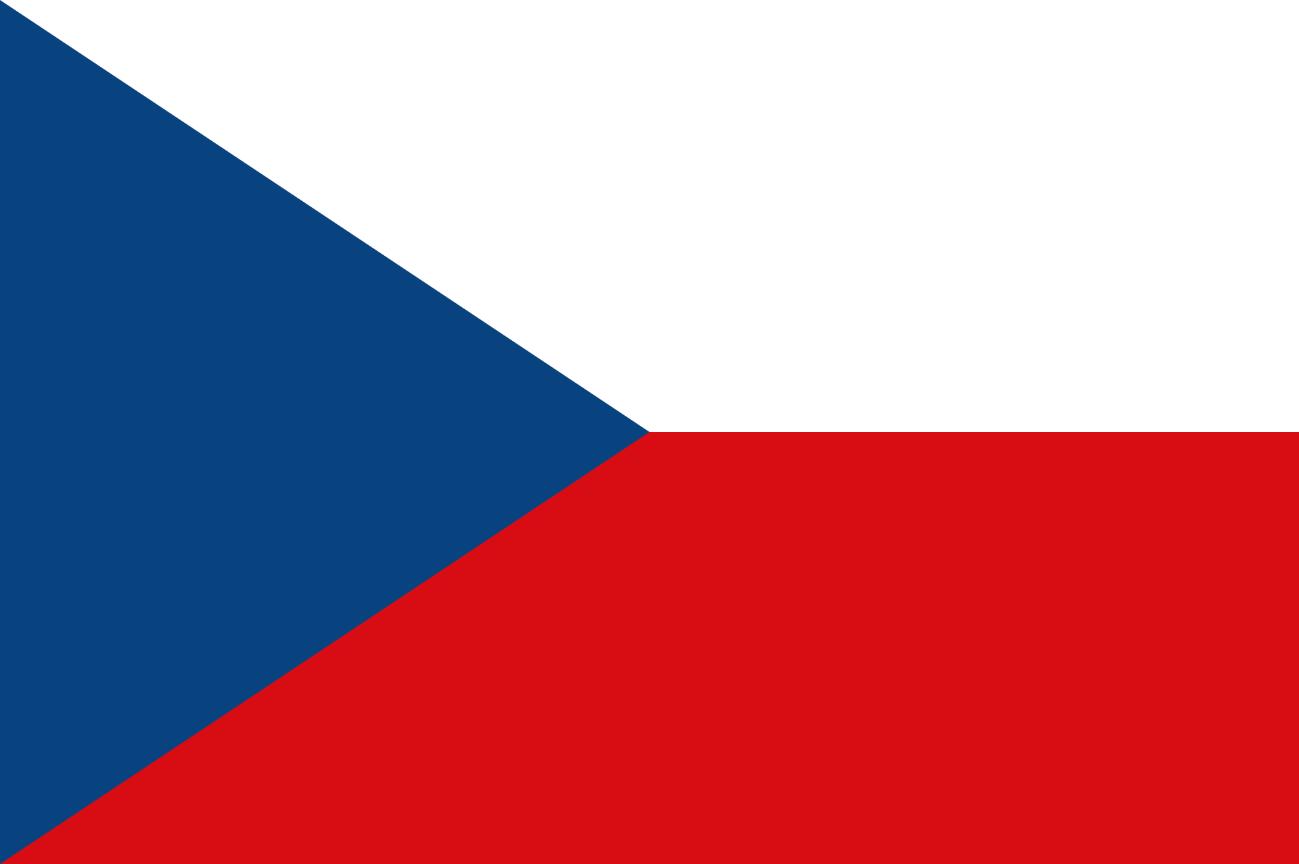 Flagge im Querformat Land Tschechien 150x100 cm