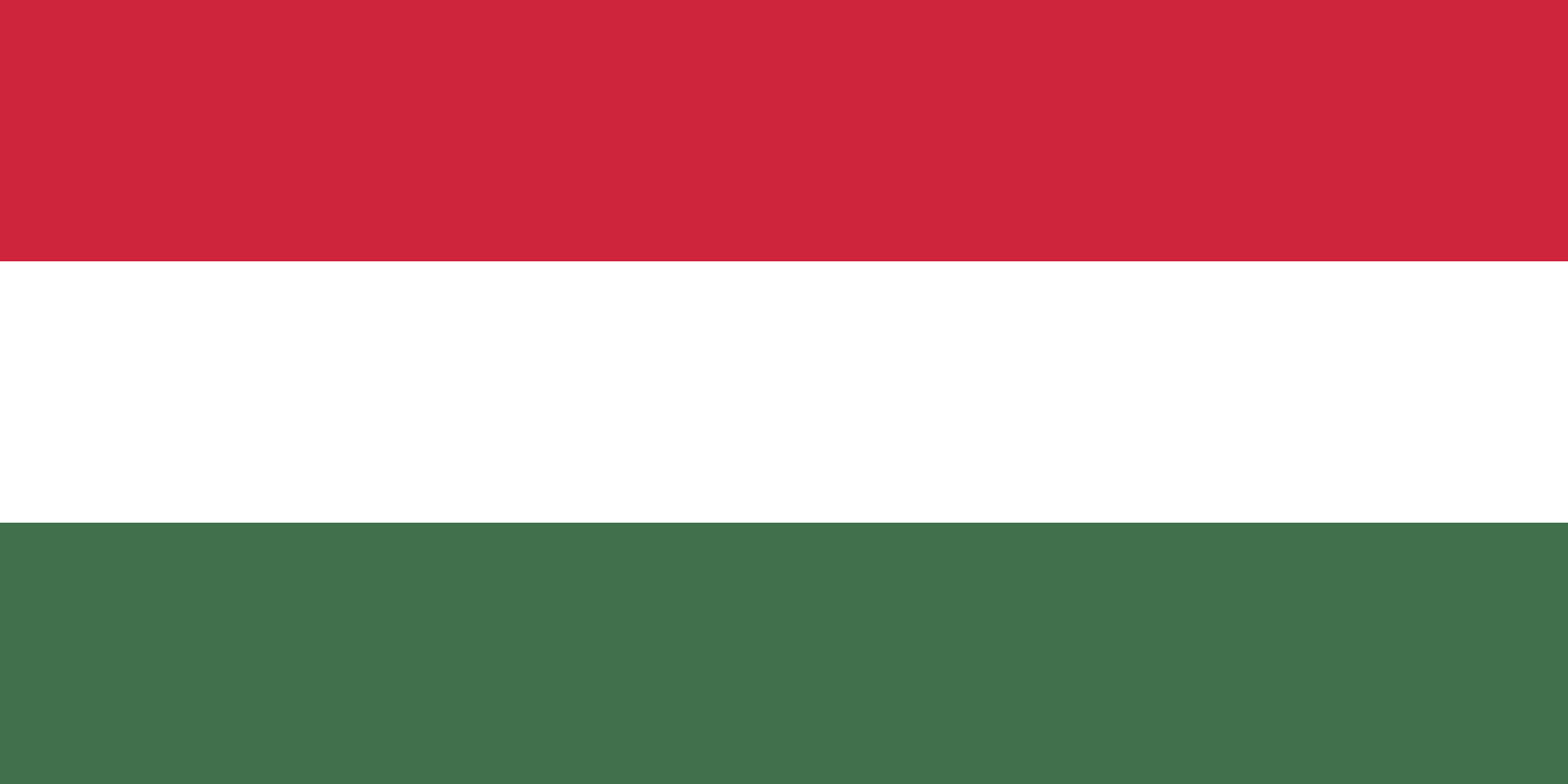 Flagge im Querformat Land Ungarn 150x100 cm
