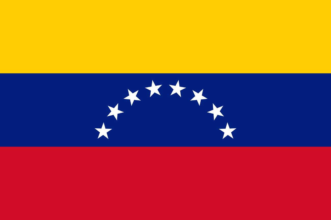 Flagge im Querformat Land Venezuela 150x100 cm