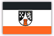 Flagge / Fahne Stadt Bad Muenster a. St.-Ebernb.