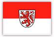 Flagge / Fahne Stadt Braunschweig