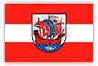 Flagge / Fahne Stadt Bremerhaven