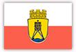 Flagge / Fahne  Stadt Cuxhafen