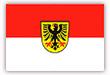 Flagge / Fahne  Stadt Dortmund