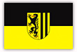 Flagge / Fahne  Stadt Dresden