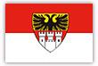 Flagge / Fahne  Stadt Duisburg