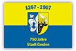 Flagge / Fahne  Stadt Gnoien