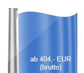Standard-Hissvorrichtung, Fahnenmasten aus Aluminium, konisch, starr