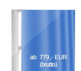 Indoor-Fahnenmast mit Ausleger und integriertem Ventilator