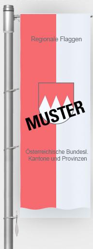 Regionale Flaggen / Österreichische Bundesl. / Kantone und Provinzen